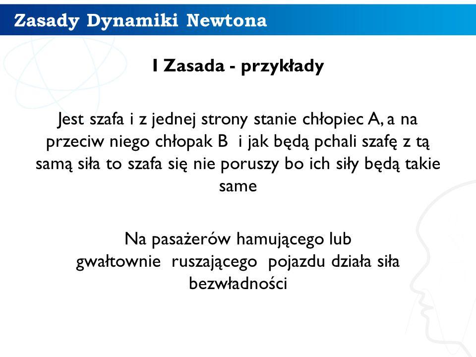 Zasady Dynamiki Newtona