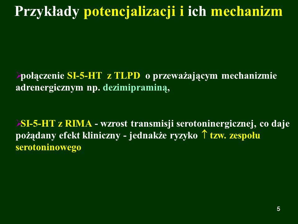 Przykłady potencjalizacji i ich mechanizm