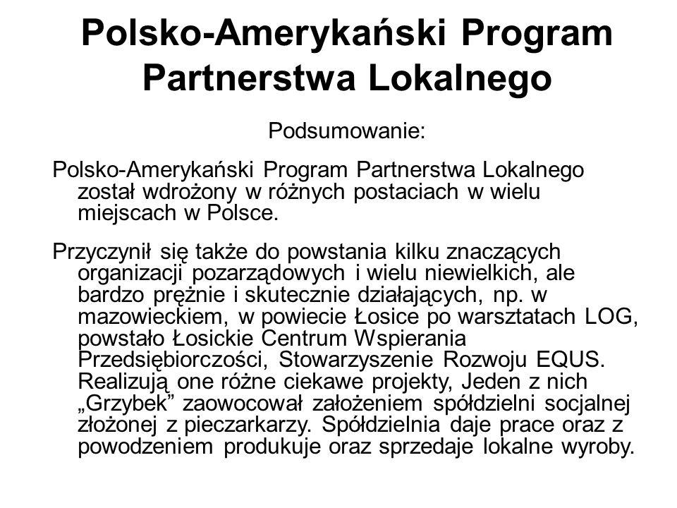 Polsko-Amerykański Program Partnerstwa Lokalnego