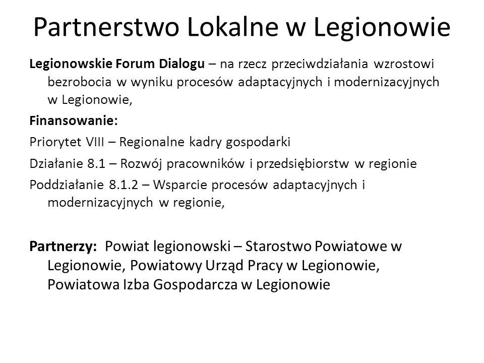 Partnerstwo Lokalne w Legionowie