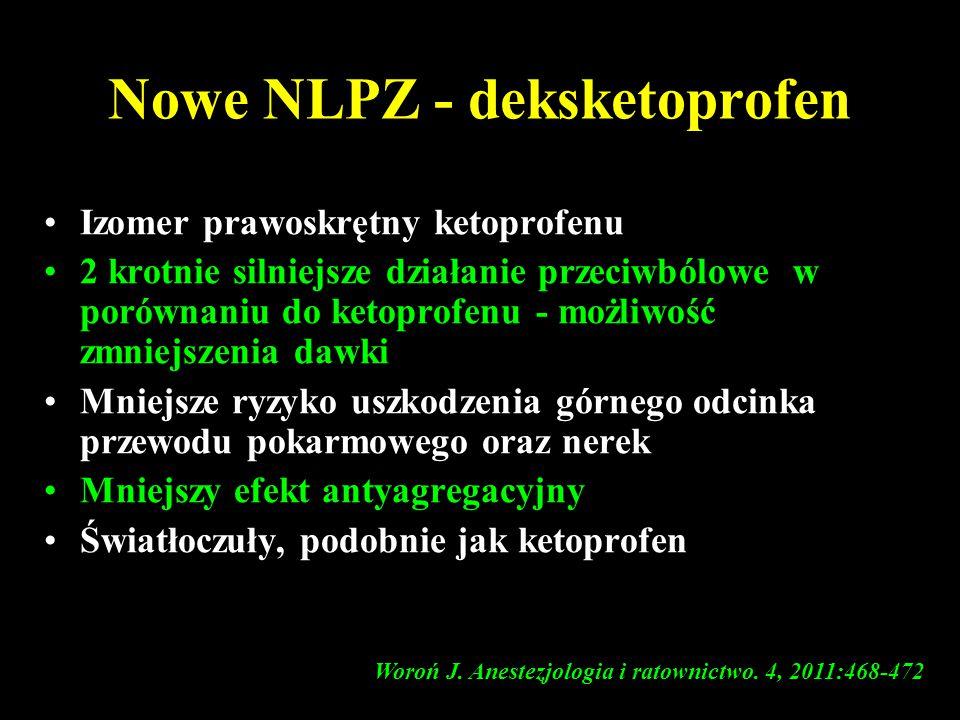 Nowe NLPZ - deksketoprofen