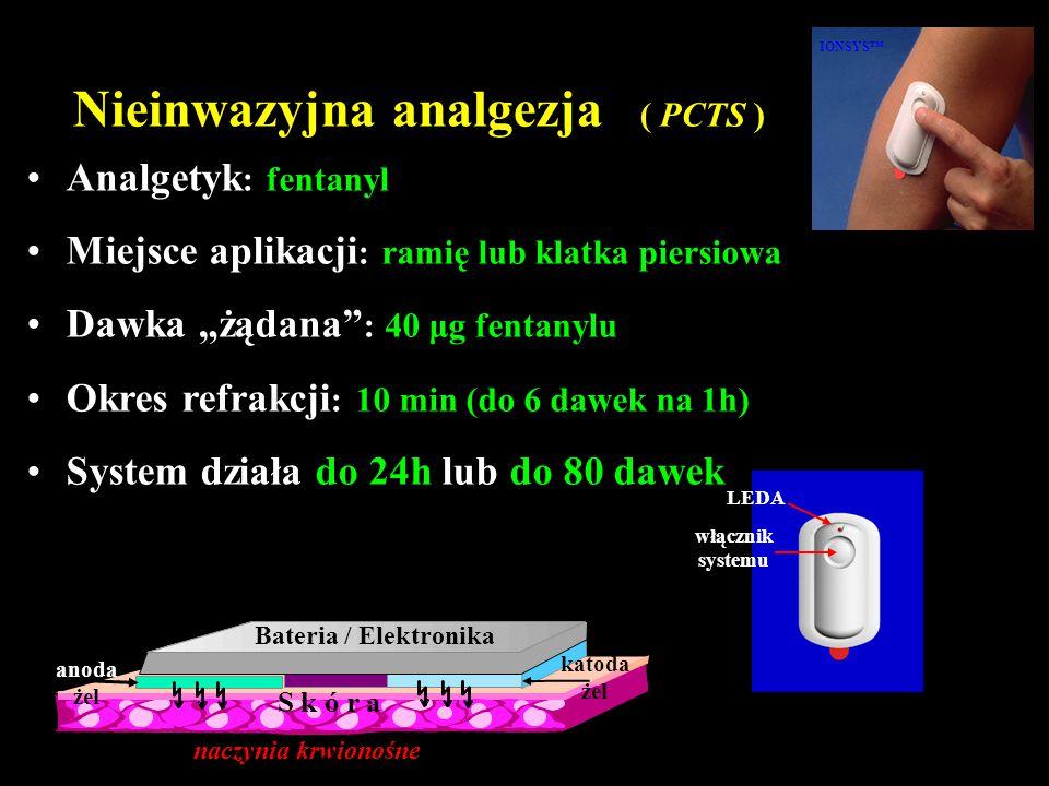 Nieinwazyjna analgezja ( PCTS )