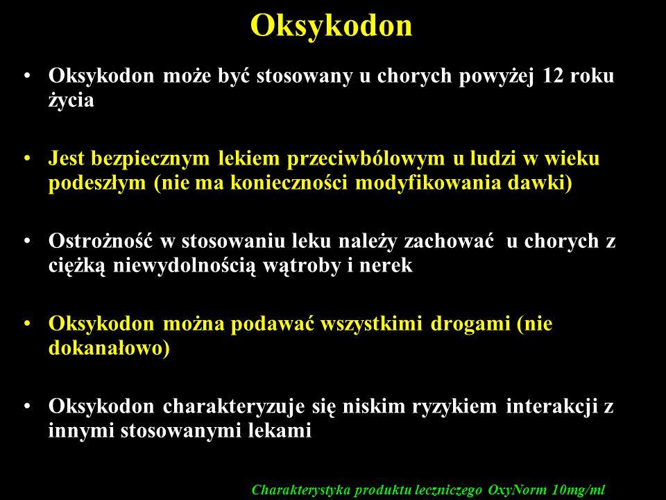 Charakterystyka produktu leczniczego OxyNorm 10mg/ml
