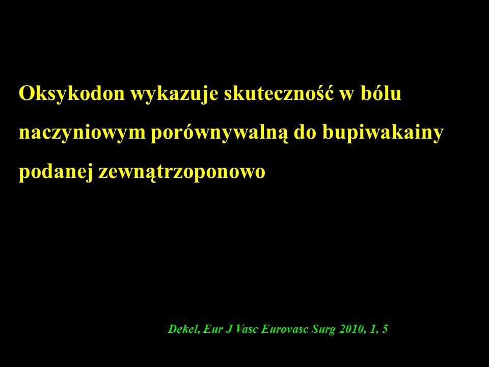 (Dekel, Eur J Vasc Eurovasc Surg 2010, 1, 5