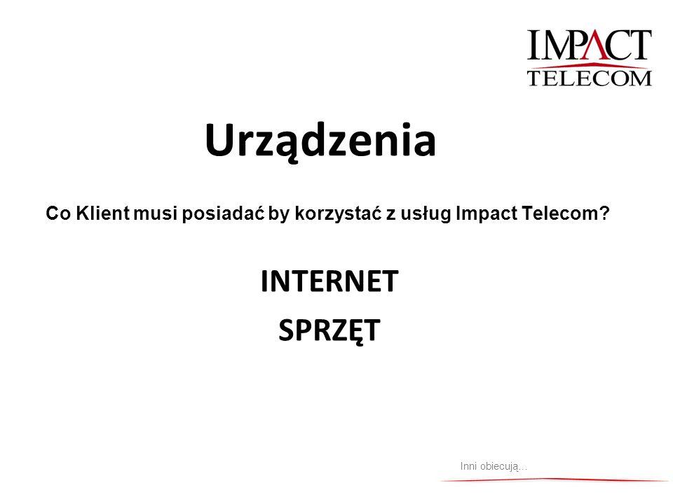 Urządzenia INTERNET SPRZĘT