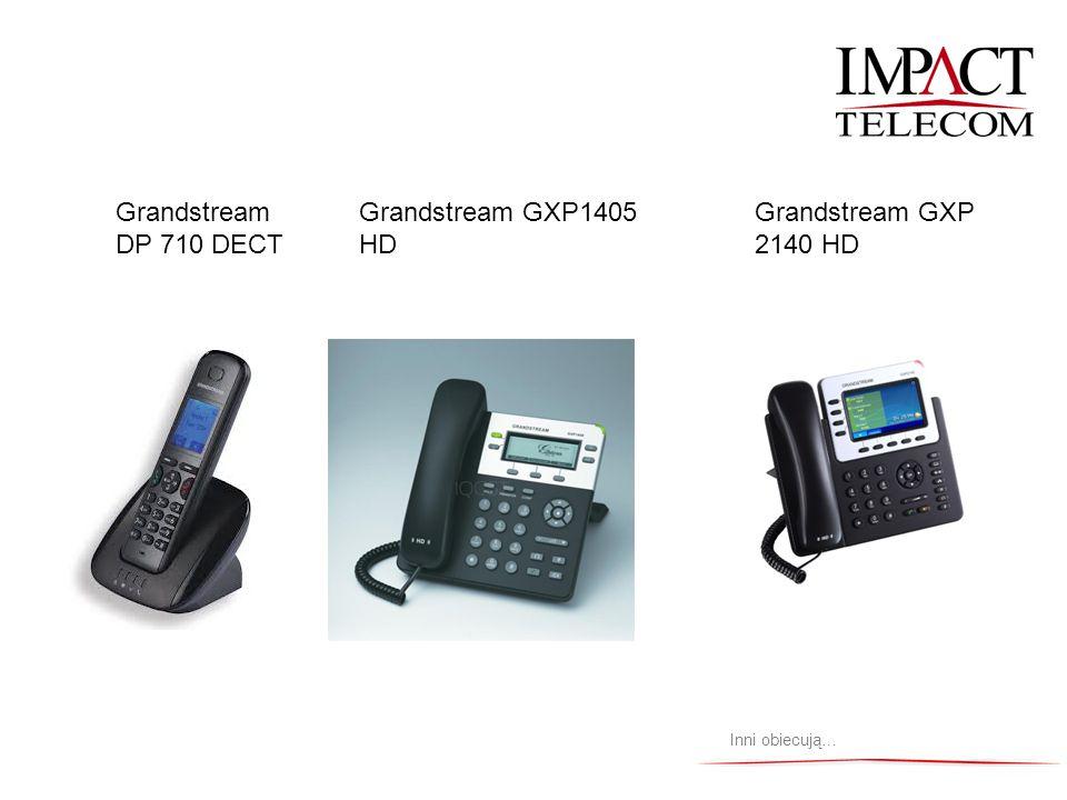 Grandstream DP 710 DECT Grandstream GXP1405 HD Grandstream GXP 2140 HD