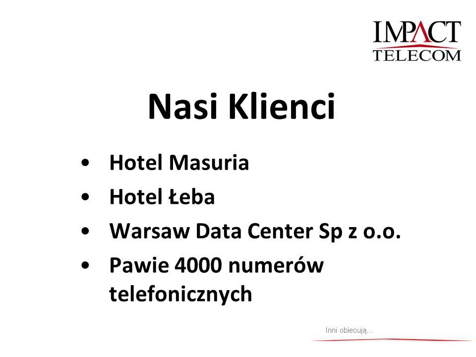 Nasi Klienci Hotel Masuria Hotel Łeba Warsaw Data Center Sp z o.o.