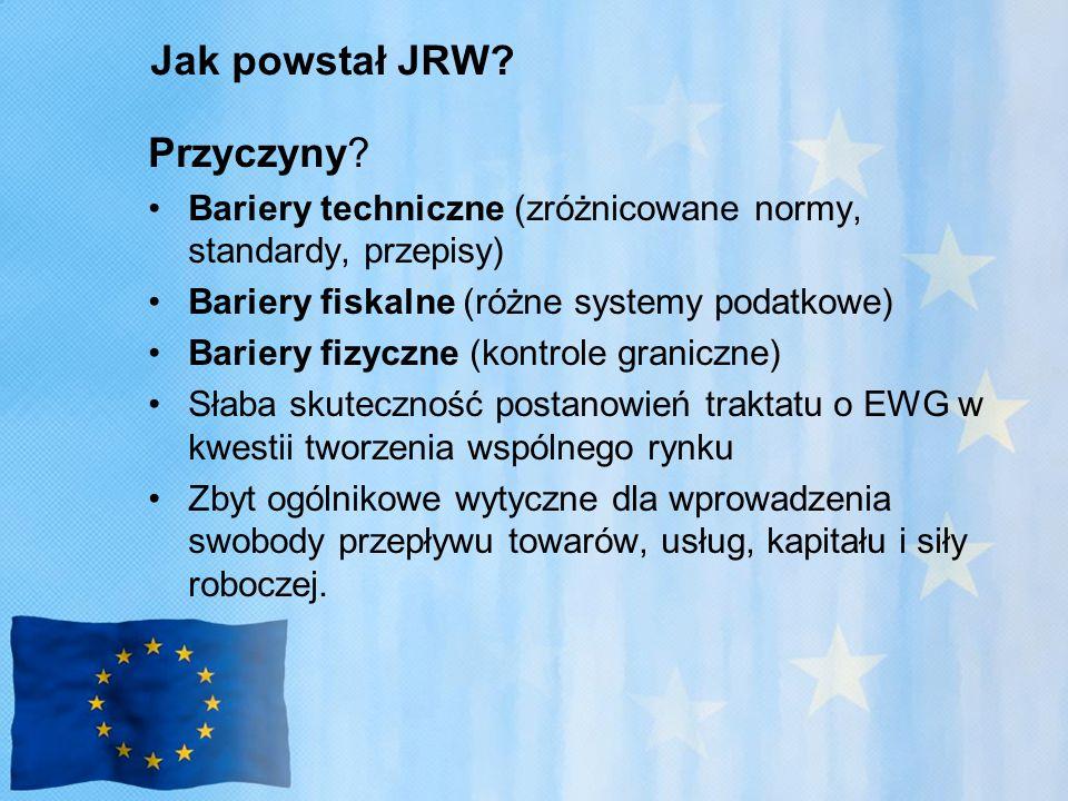 Jak powstał JRW Przyczyny
