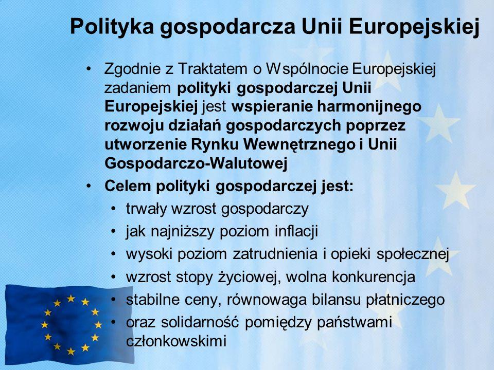 Polityka gospodarcza Unii Europejskiej