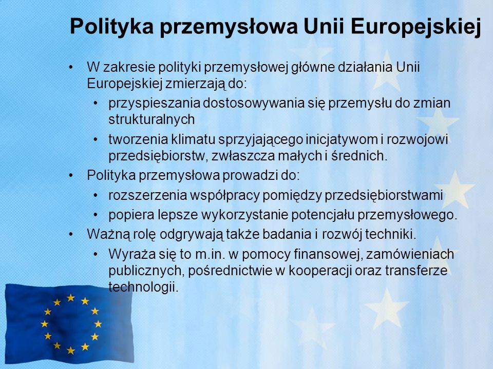 Polityka przemysłowa Unii Europejskiej