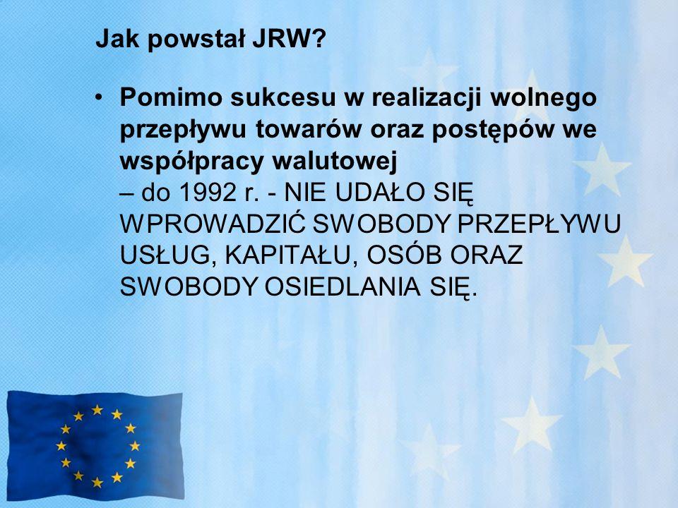 Jak powstał JRW