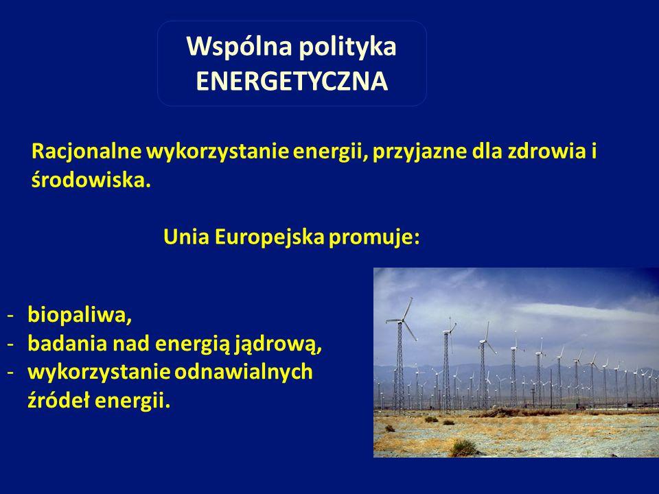 Wspólna polityka ENERGETYCZNA