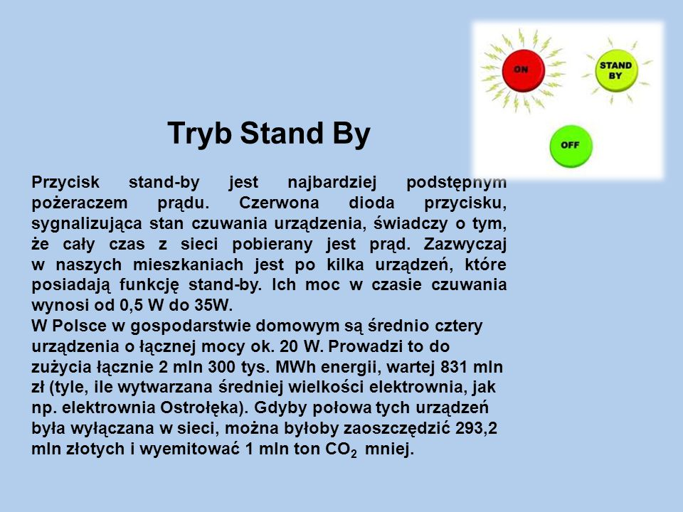 Tryb Stand By