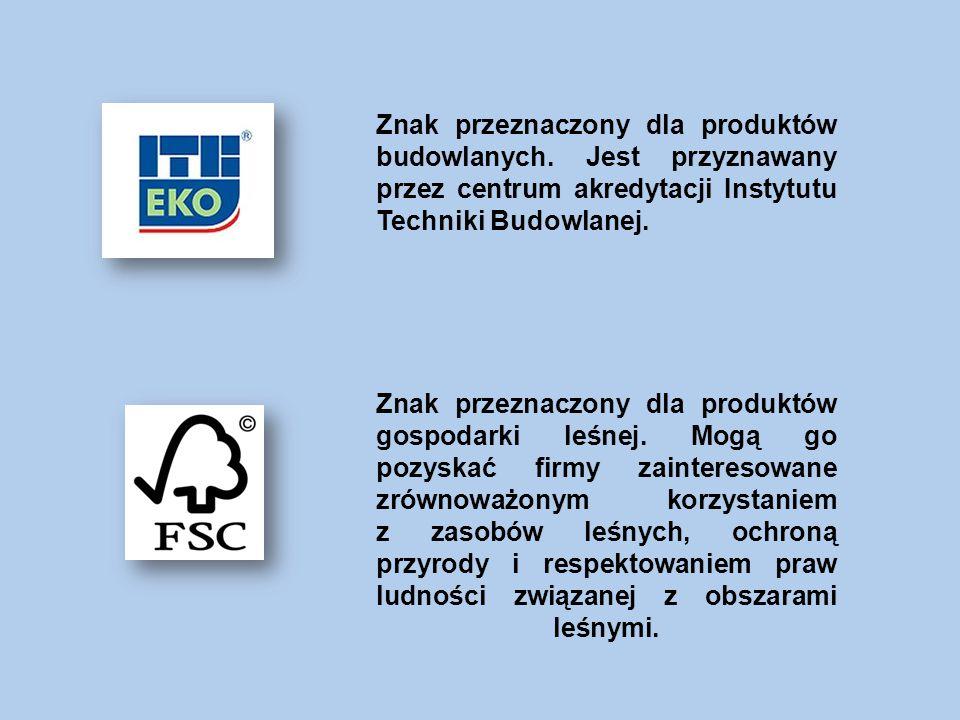 Znak przeznaczony dla produktów budowlanych