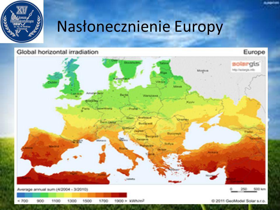 Nasłonecznienie Europy