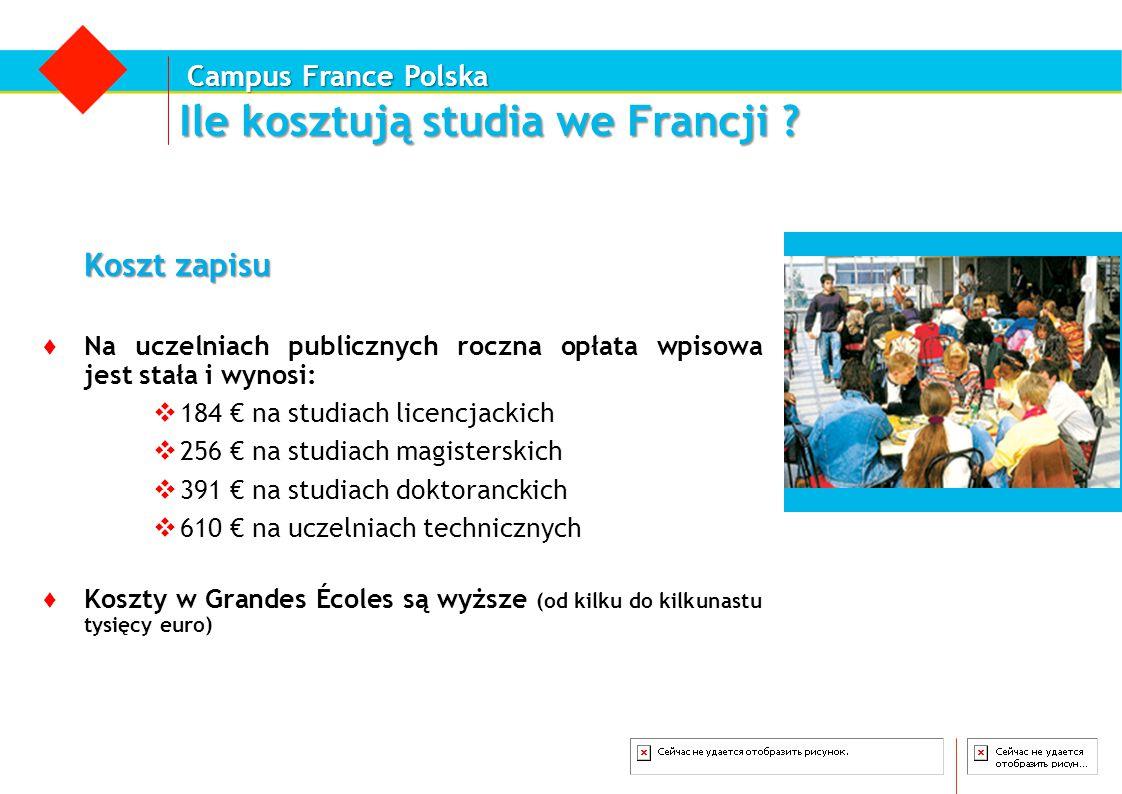 Ile kosztują studia we Francji