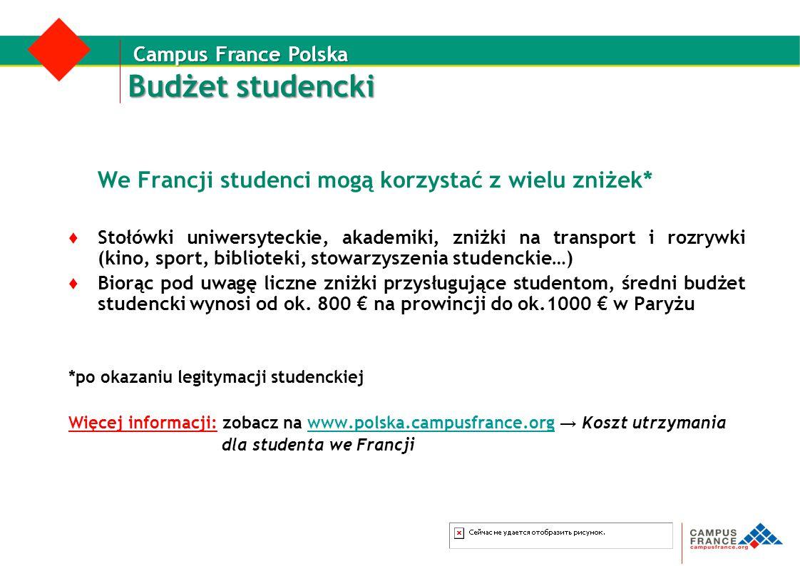 Budżet studencki We Francji studenci mogą korzystać z wielu zniżek*