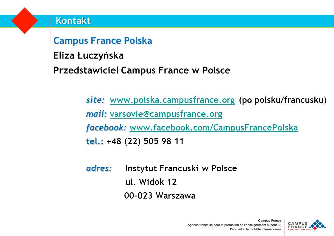 Przedstawiciel Campus France w Polsce
