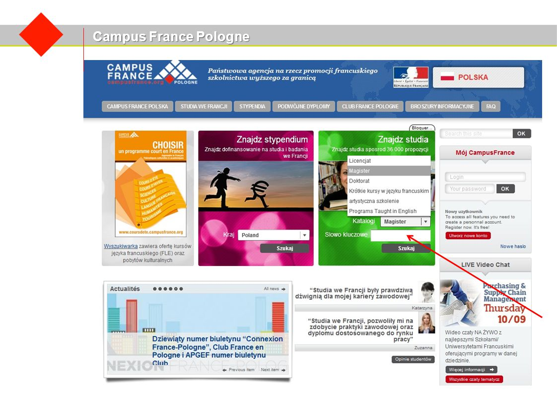 Campus France Pologne