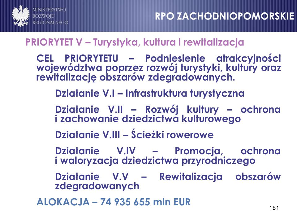 RPO ZACHODNIOPOMORSKIE