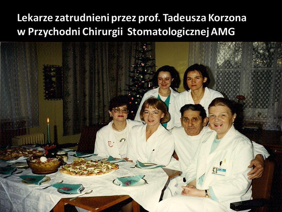 Lekarze zatrudnieni przez prof