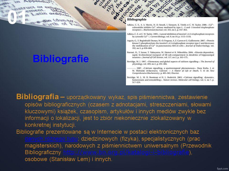 01 Bibliografie.