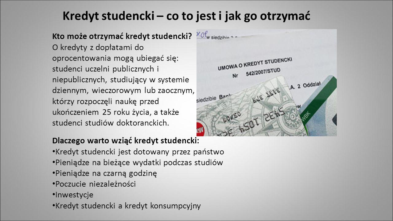 Kredyt studencki – co to jest i jak go otrzymać