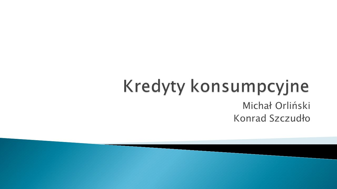 Michał Orliński Konrad Szczudło
