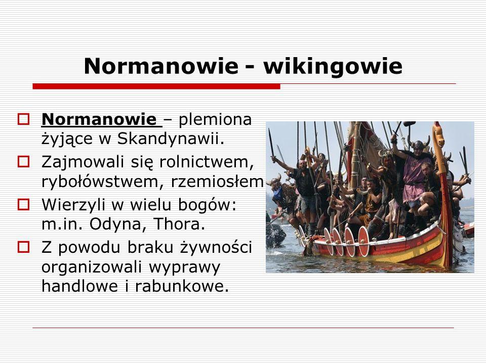 Normanowie - wikingowie