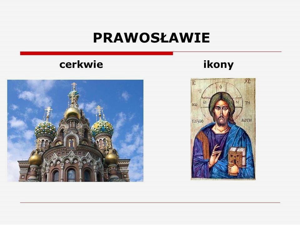 PRAWOSŁAWIE cerkwie ikony
