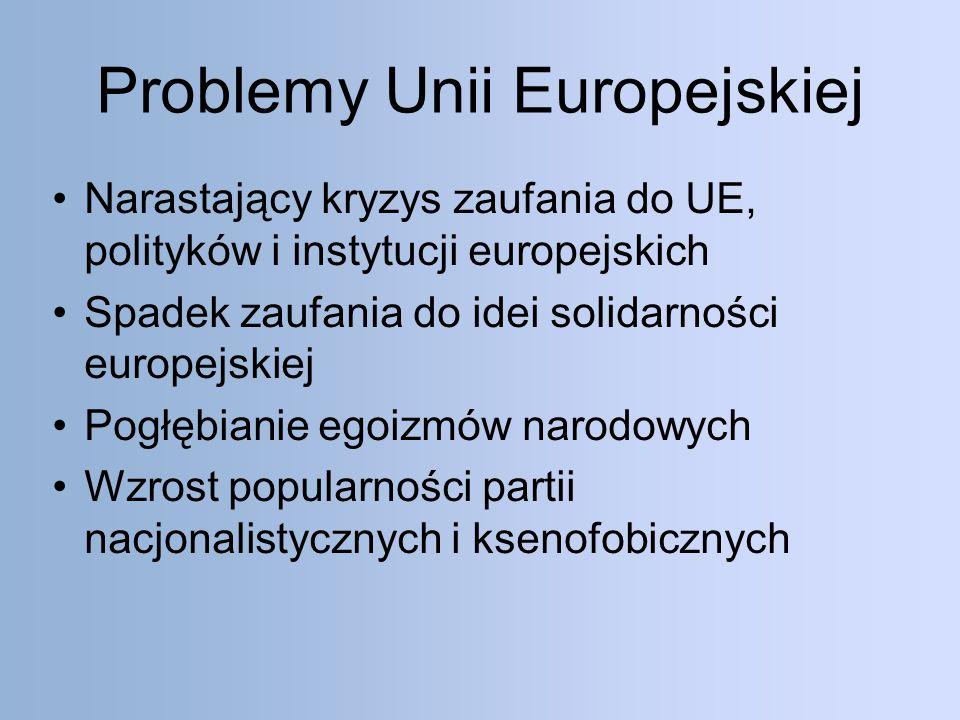 Problemy Unii Europejskiej