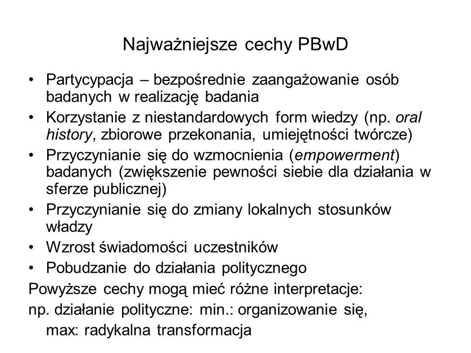 Najważniejsze cechy PBwD