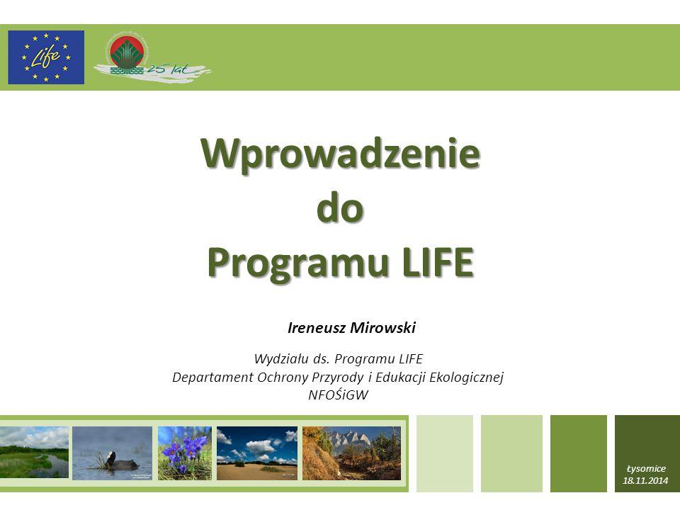 Wprowadzenie do Programu LIFE