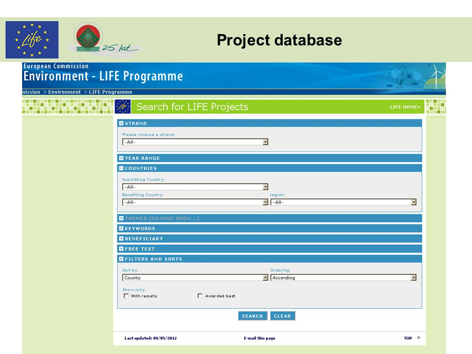 Project database