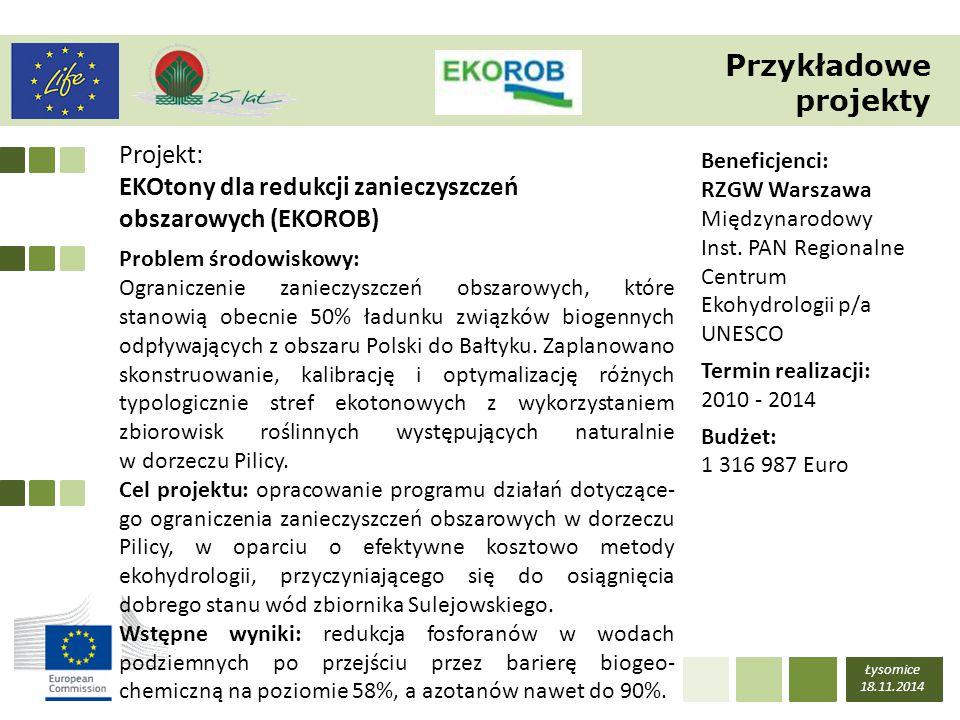 Przykładowe projekty Projekt: