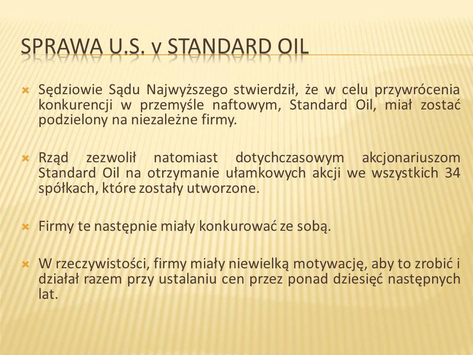Sprawa U.S. v Standard Oil