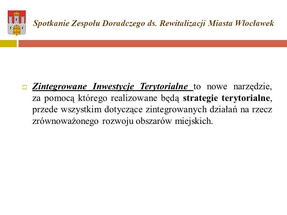 Spotkanie Zespołu Doradczego ds. Rewitalizacji Miasta Włocławek