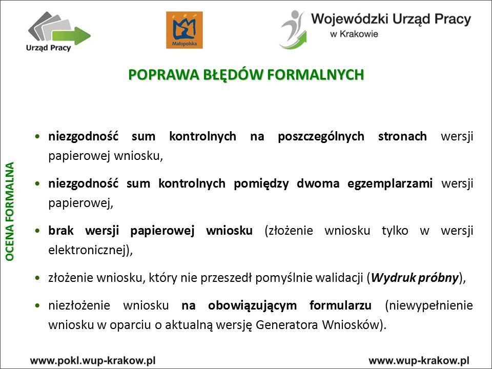 POPRAWA BŁĘDÓW FORMALNYCH