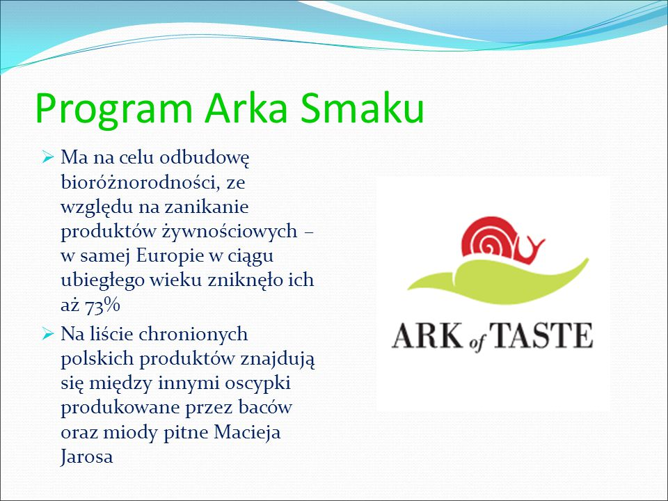 Program Arka Smaku