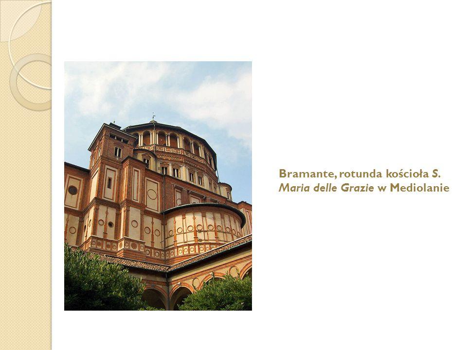 Bramante, rotunda kościoła S.