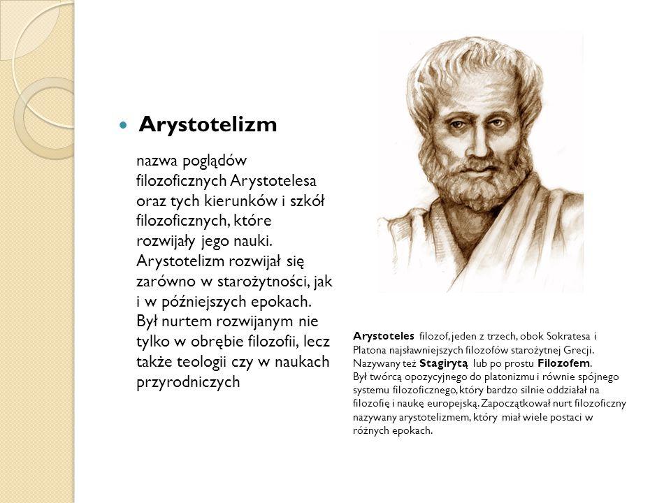 Arystotelizm