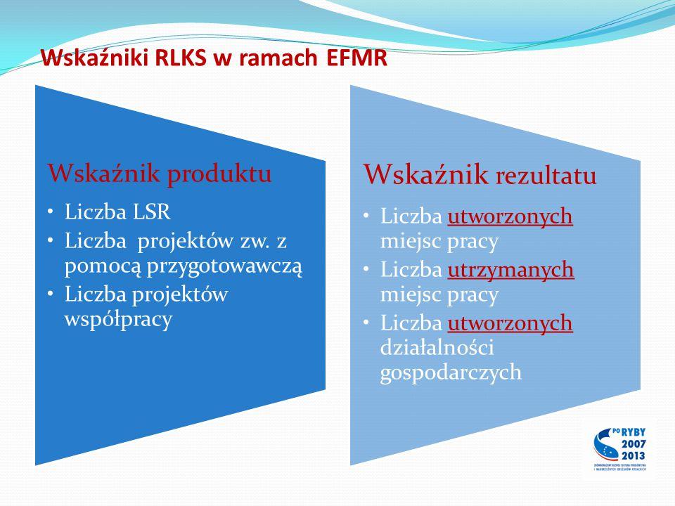 Wskaźniki RLKS w ramach EFMR