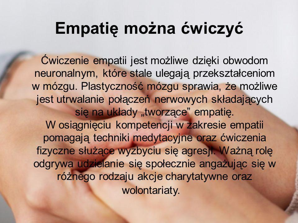Empatię można ćwiczyć