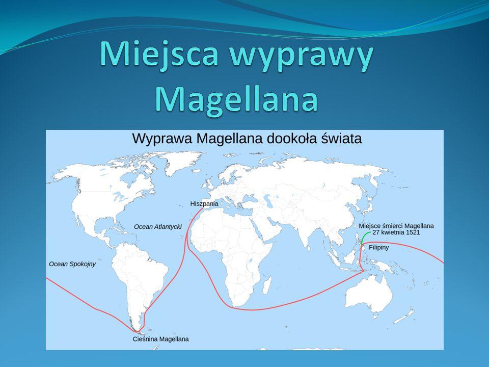 Miejsca wyprawy Magellana