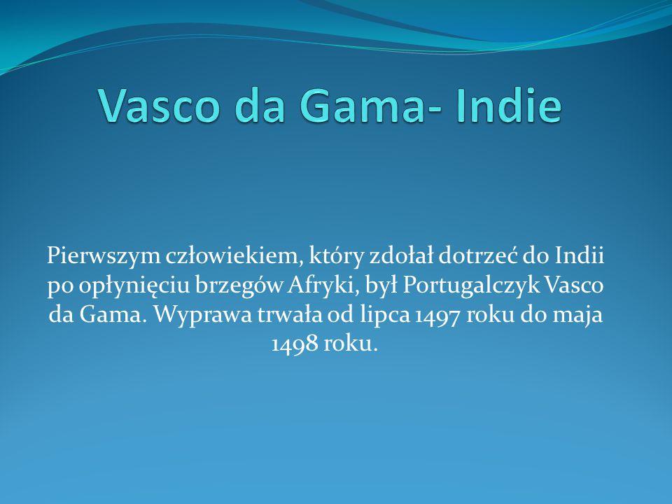 Vasco da Gama- Indie