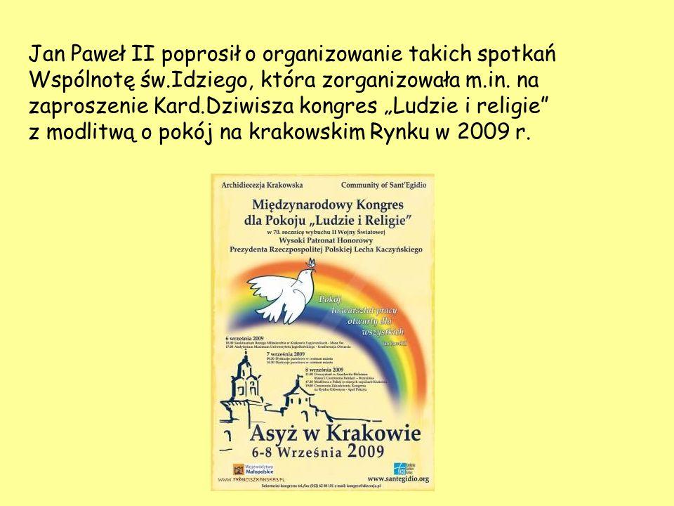 Jan Paweł II poprosił o organizowanie takich spotkań