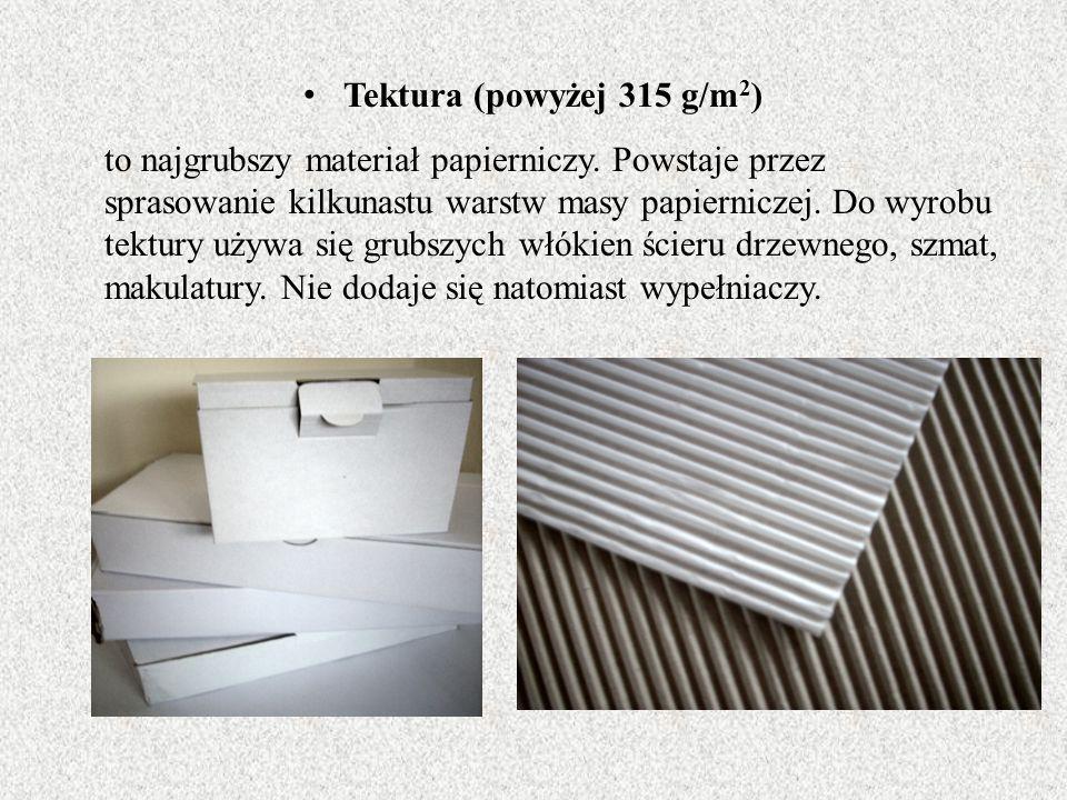 Tektura (powyżej 315 g/m2)