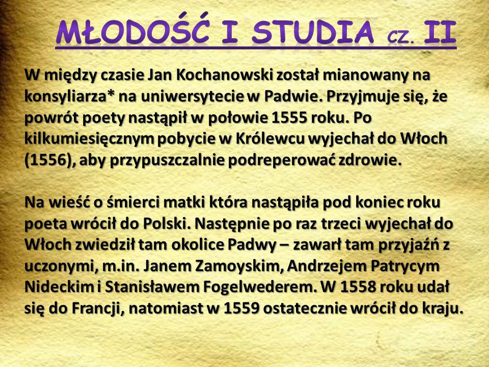 Młodość i Studia cz. II