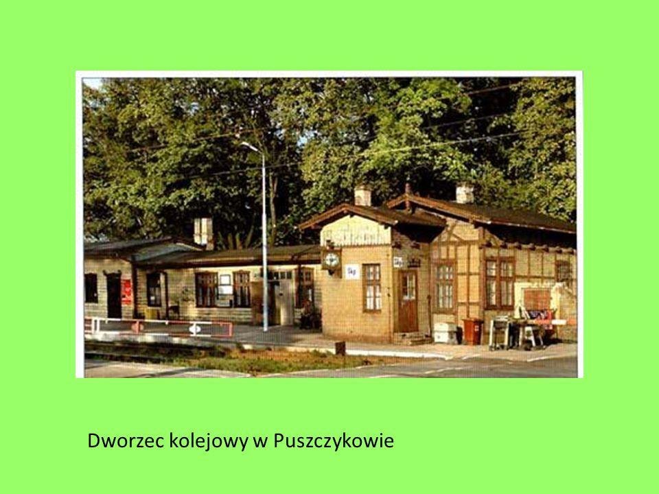 Dworzec kolejowy w Puszczykowie
