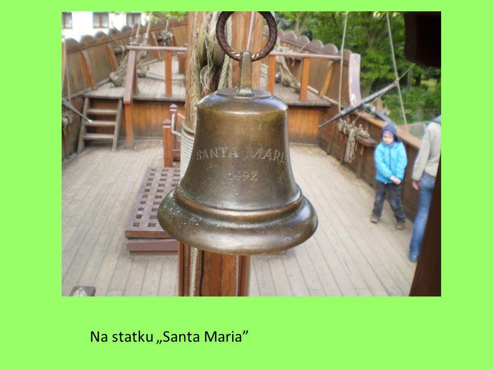 "Na statku ""Santa Maria"